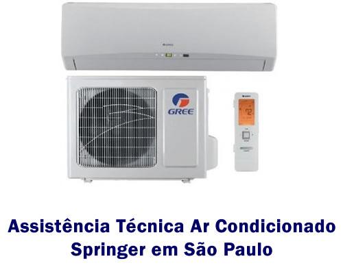 Assistência técnica ar condicionado Springer em São Paulo