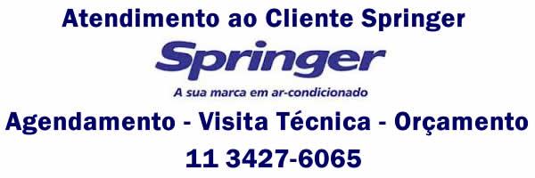 Orçamento ar condicionado Springer