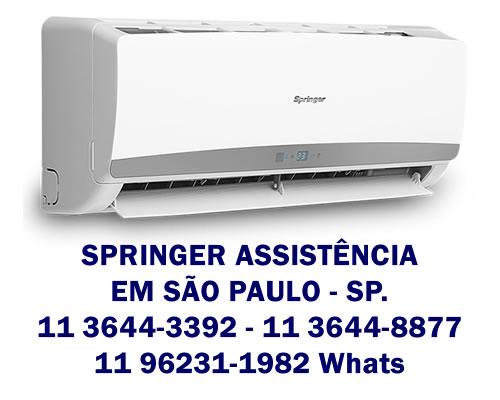 Serviços para ar-condicionado Springer
