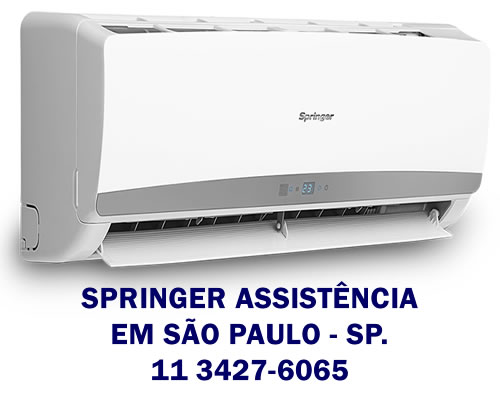 Serviços para ar condicionado Springer em São Paulo