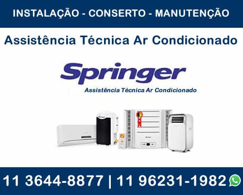 assistência técnica ar-condicionado Springer