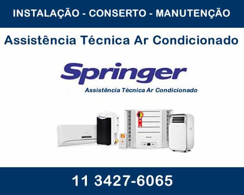 assistência Técnica ar condicionado Springer