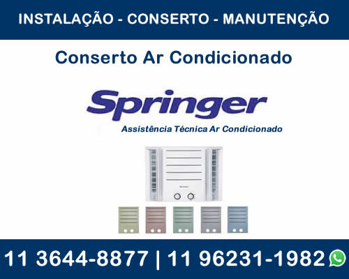 Conserto ar-condicionado Springer