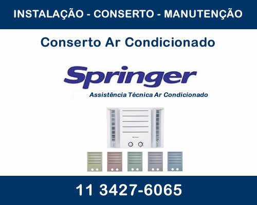 Conserto ar condicionado Springer