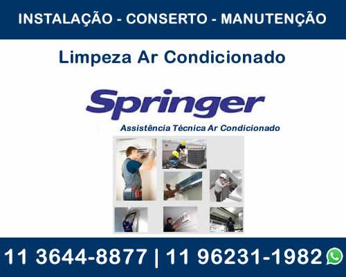 Limpeza ar-condicionado Springer