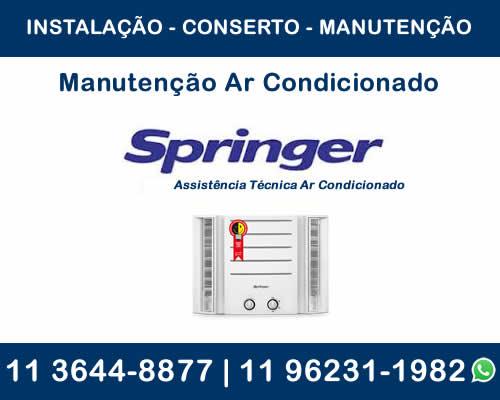 Manutenção ar-condicionado Springer