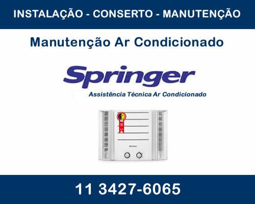 Manutenção ar condicionado Springer