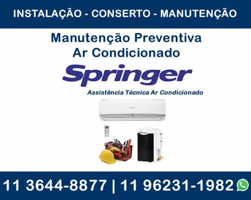 manutenção preventiva ar-condicionado Springer