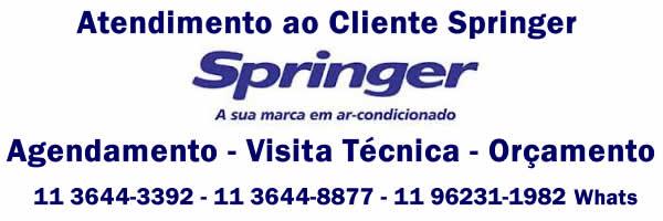 Orçamento ar-condicionado Springer